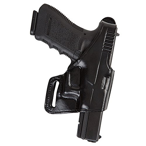 Bianchi 75 Venom Belt Slide Right Hand Holster, Unisex, 24914, Schwarz, Size 21A