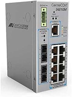 Allied Telesis AT-IA810M-80 Gestionado L2 Fast Ethernet (10/100) Gris - Switch de Red (Gestionado, L2, Fast Ethernet (10/100))