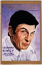leonard nimoy autographed book