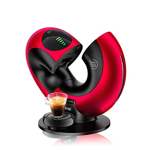 Fantastic Deal! Professional Automatic Capsule Coffee Machine 1500 Watt, 1.3 liters,Red/Black,Red