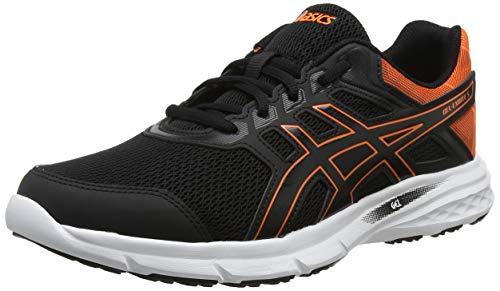 ASICS Gel-Excite 5, Scarpe da Running Uomo, Nero (Black/Shocking Orange 001), 40 EU
