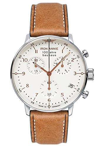 Iron Annie Herrenuhr Chronograph 100 Jahre Bauhaus 5096-4