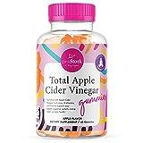 Pink Stork Total Apple Cider Vinegar Gummies: Apple Flavored Apple Cider Vinegar Gummy Vitamins for Immunity + Detox + Weight Loss + Vitamin B6 + Vitamin B12, 60 Apple Flavored Fruit Juice ACV Gummies