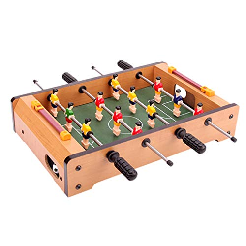Buy Discount QNJM Table Football, Portable Mini Tabletop Foosball Table, Table Football Soccer Game ...