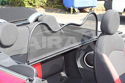 Airax Windschott für Mini One Cooper R52 R57 Windabweiser Windscherm Windstop Wind deflector déflecteur de vent