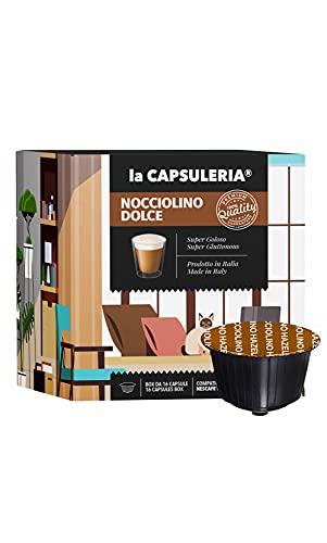 La Capsuleria® Capsule compatibili Nescafè Dolce Gusto - NOCCIOLINO DOLCE (48 Capsule)