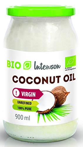 BIO Kokosöl, unraffiniert, kaltgepresst virgin 900ml Intenson