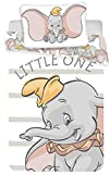 Dumbo - Juego de Ropa de Cama para bebé (2 Piezas) 100% algodón. Tamaño: 100...