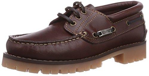 Daniel Hechter HJ10028, Chaussures Bateau Femme, Rouge (Bordo 330), 41 EU