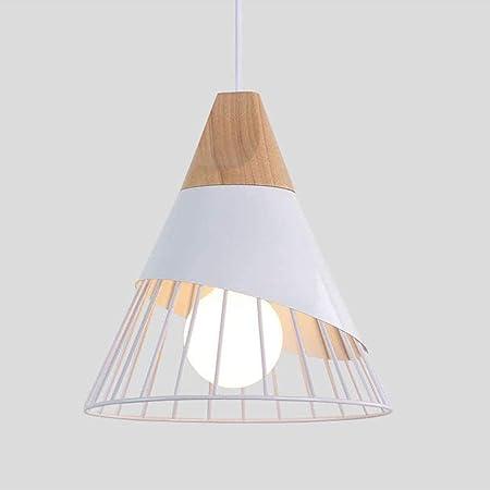 Retro Industrie Hängelampe Decken Pendelleuchte Bar Metall Lampe Schirm weiß