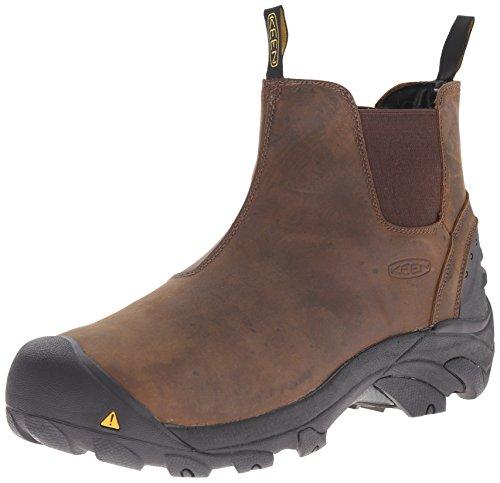 KEEN Utility Men's Detroit Slip-On Engineer Boot,...