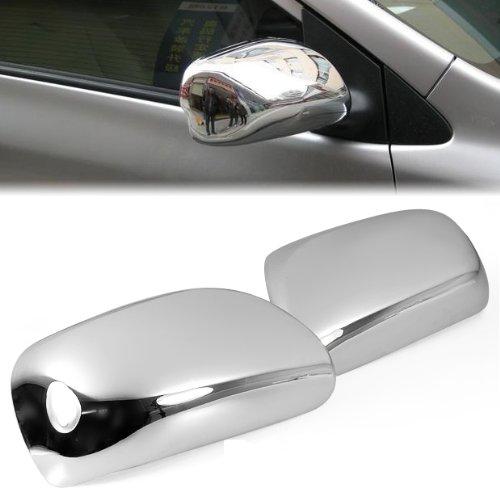 Razer Auto Black Chrome Mirror Cover for 2007-2011 TOYOTA YARIS//MATRIX//PRIUS//2009-2013 TOYOTA COROLLA