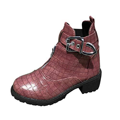 GFPGNDFHG Stiefeletten Damen Bunte Stiefeletten Damen Stiefeletten niedriger Absatz Boots Beleuchtung Set Slippers bootslack farblos glänzend Schuhe Sneaker Damen weiß Freizeitschuhe Weiss Laufschuhe