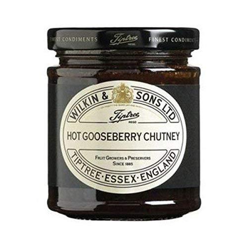 Tiptree Hot Gooseberry Chutney 230g Wilkin & SONS