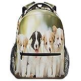 Oarencol - Mochila de viaje con diseño de perro Collie
