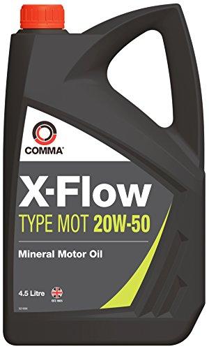 Comma XFMOT1G X-Flow Type Mot 20W50 Huile Moteur 4,5 litres