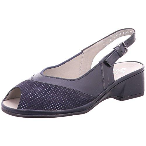 ARA Shoes 12-37057-07, color Azul, talla 39 EU