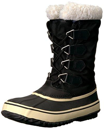 Amazon Brand - 206 Collective Women's Arctic Winter Boot Rain, Black, 6 B US