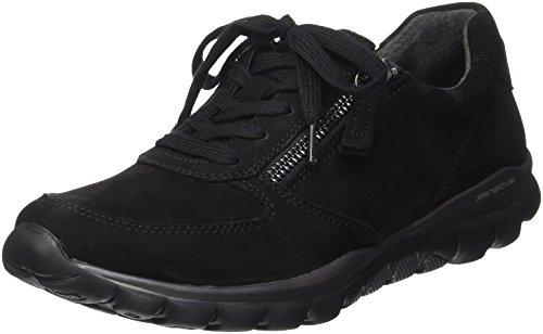 Gabor Shoes Damen Rollingsoft Derbys, Schwarz (47 Schwarz), 40 EU