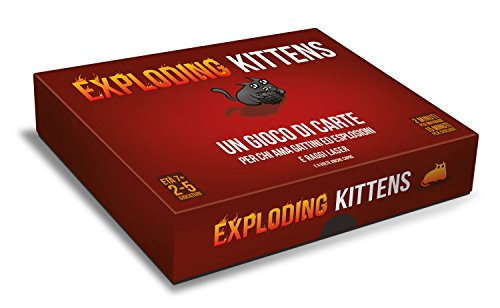 Asmodee - Exploding Kittens, Gioco di Carte, Edizione in Italiano, 8540