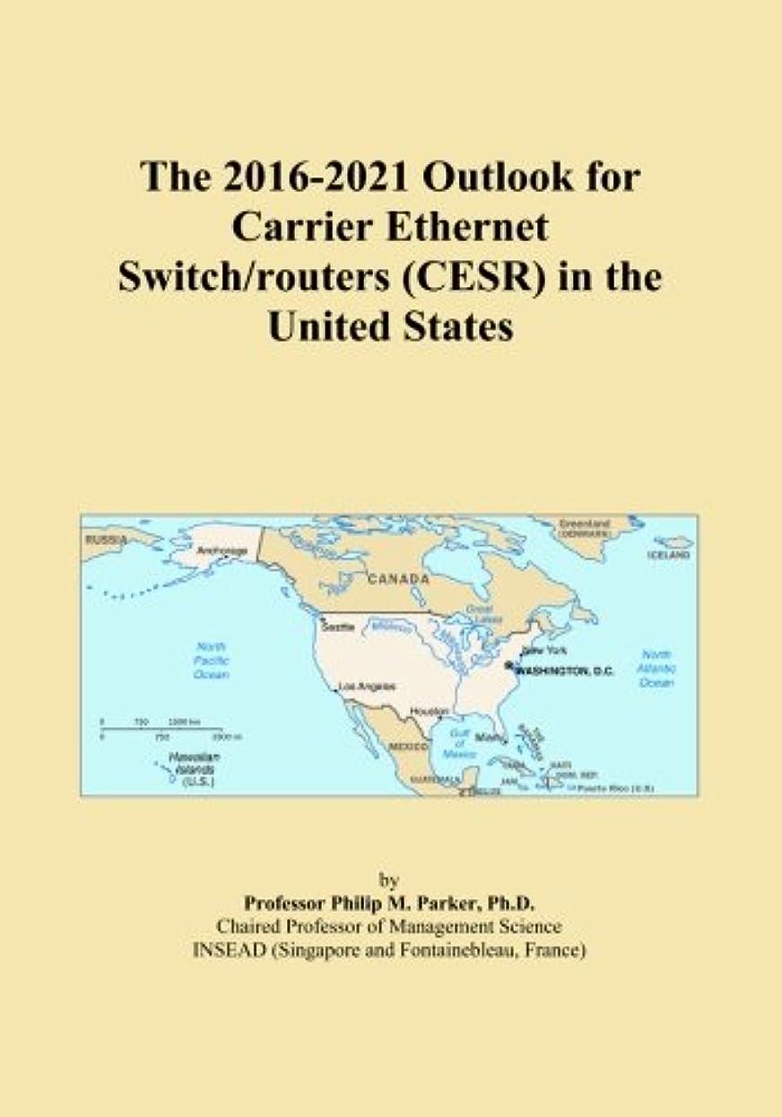 重さ従来の暴徒The 2016-2021 Outlook for Carrier Ethernet Switch/routers (CESR) in the United States