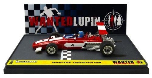 BRUMM 1/43 Ferrari 312B Lupin III Lupin WANTED (japan import)