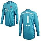 adidas FCB FC Bayern München Torwartshirt Heim Torwarttrikot 2020 2021 Kinder Neuer 1 Gr 140