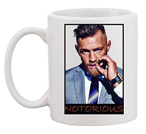Conor Mcgregor Notorious Portrait Mug Cup Café Vaso Coffee Tea