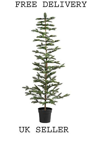 VINTER Artificial potted plant, Christmas tree green 19 cm