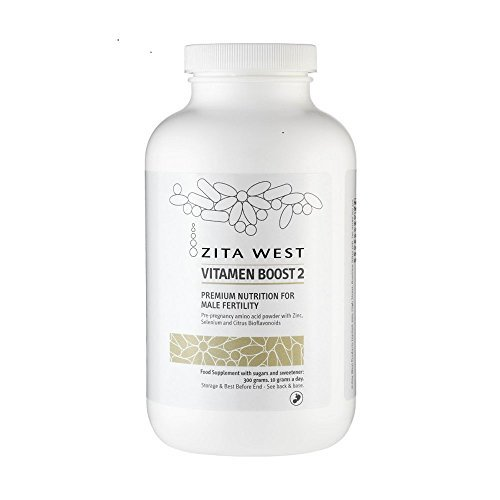 Zita West Vitamen Boost 2– Amino Acid Powder with Zinc and Selenium to Support Sperm Health