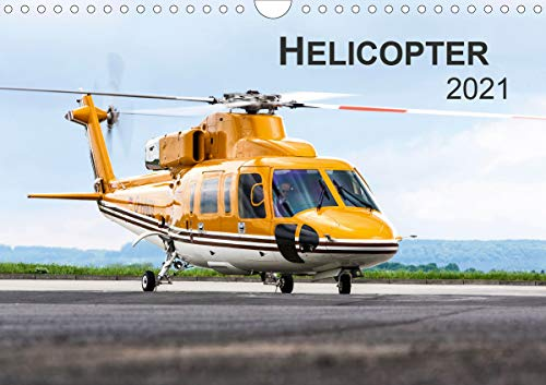 Helicopter 2021 (Wandkalender 2021 DIN A4 quer)