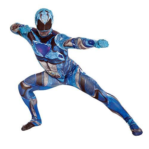 """Morphsuits Disfraz de mlprmdblx 176–185cm """"oficial azul Deluxe película disfraz de Power Ranger"""" (XL) , color/modelo surtido"""