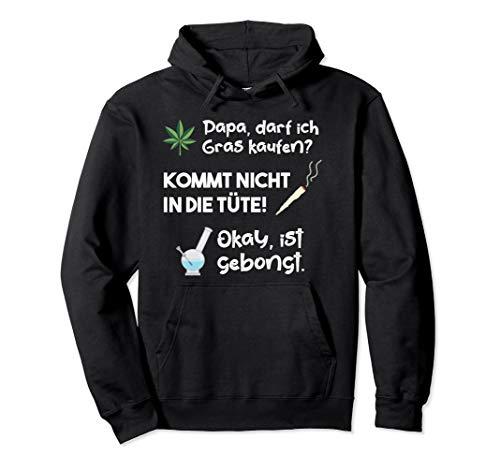 Lustiges Cannabis Marihuana Weed Wasserpfeife Pullover Hoodie