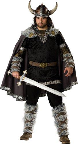 En Costumes de caract-re 181356 Viking Guerrier Adulte Plus Costume - Brown - Plus - 2X