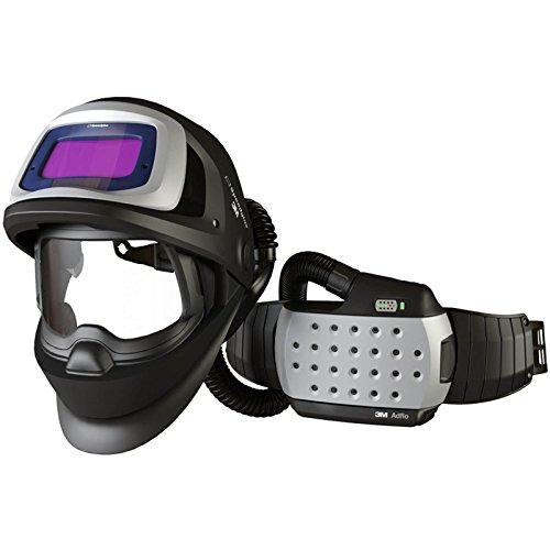 SPEEDGLAS 9100 FX AIR Schweißmaske Schweißhelm mit ADFLO Atemschutzsystem, Größe:73 x 107 mm