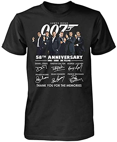 ABH Sean Connery James Bond 007 Thank You for The Memories Shirt_3644_Compressed