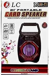 DLC Portable Card Speaker Black