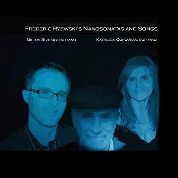 Frederic Rzewski's Nanosonatas and Songs (feat. Kathleen Corcoran, Soprano)