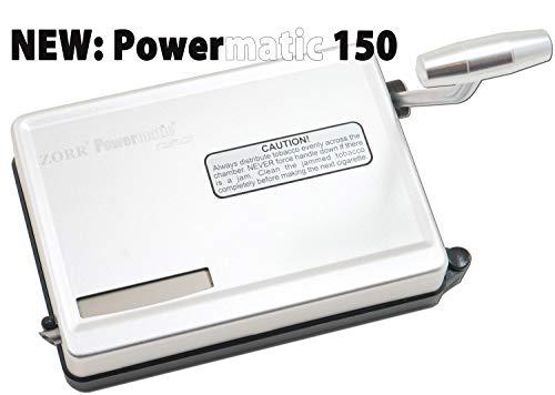 mächtig M & M MM Powermatic 150 Arm Handinjektor, Silber, Zum Füllen von Zigaretten, Chrom,…