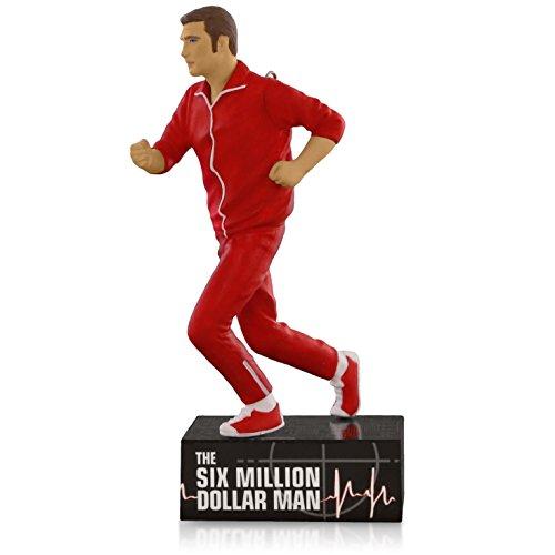 The Six Million Dollar Man - Steve Austin Ornament 2015 Hallmark