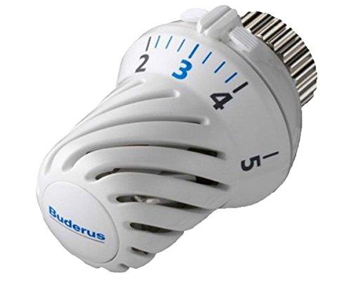 Buderus - Válvula termostáticaBH, con cabeza roscada y casquillo M30x 1,5 mm