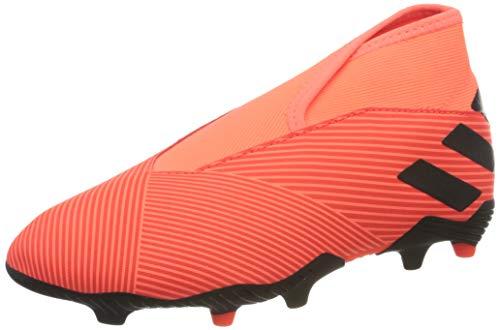 adidas Nemeziz 19.3 LL FG, Zapatillas de fútbol, CORSEN/NEGBÁS/Rojsol, 34 EU
