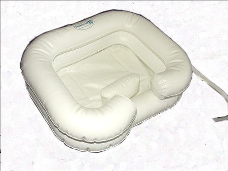 Disabled Bed Shampoo Inflatable Bath Tub Basin by EZ Access