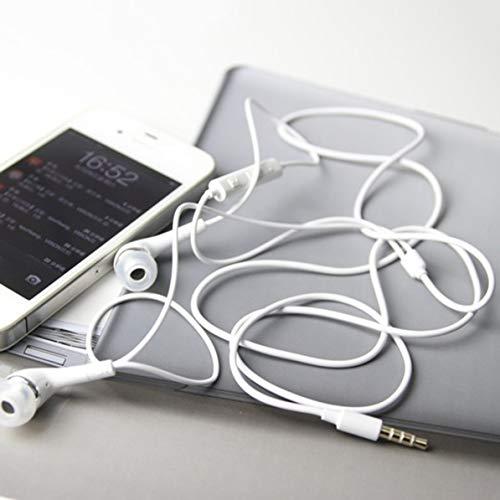 MarinoBIRD Auriculares Auriculares in-Ear Micrófono con Cable de 3.5 mm/Control de Volumen para Auriculares con Auriculares Galaxy S4