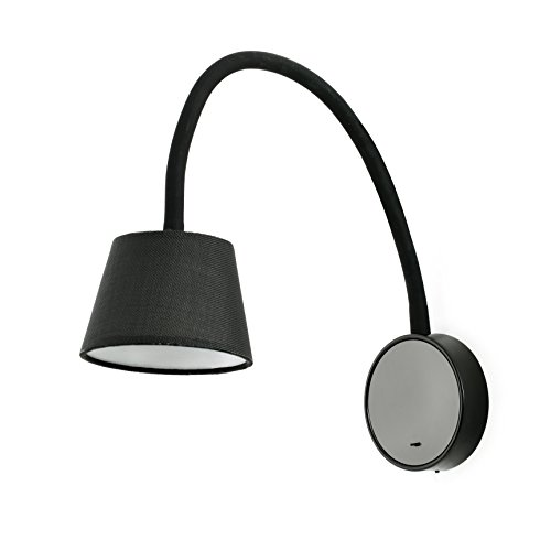 Faro Barcelona 62100 - BLOME LED Lampe applique noire