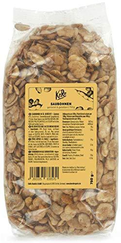 KoRo - Saubohnen geröstet & gesalzen 750 g - Knuspriger Snack für zwischendurch mit wenig Kalorien
