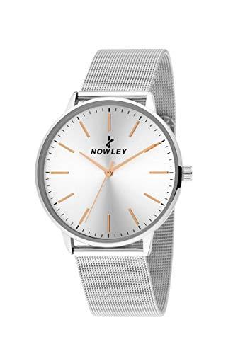 Reloj NOWLEY Hombre Pulsera Acero Malla MILANESA