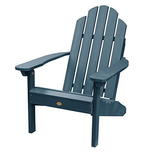 Highwood AD-CLAS1-NBE Classic Westport Adirondack Chair, Nantucket Blue