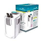 allpondsolutions Aquarium Fish Tank External Canister Filter - 9w UV Steriliser - FREE Media EFX+ (2000L/H)