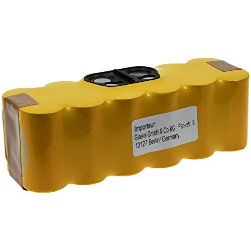 Akku kompatibel mit Saugroboter iRobot Roomba 620, 14,4V, NiMH